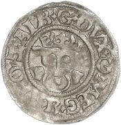 1 Dreiling - Albrecht VII – avers