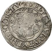 1 Doppelschilling - Ulrich III. – avers