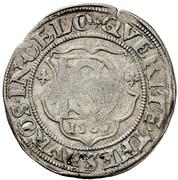 1 Doppelschilling - Ulrich III. – revers