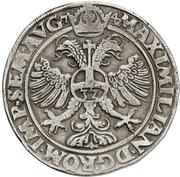 1 Taler - Ulrich III. – revers