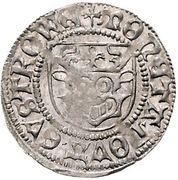 1 sechsling Albrecht VII. -  revers