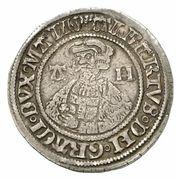 1 doppelschilling Albrecht VII. – avers