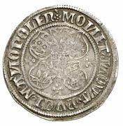 1 doppelschilling Albrecht VII. – revers