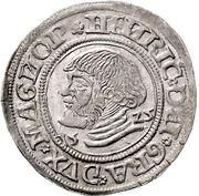 1 doppelschilling Heinrich V – avers