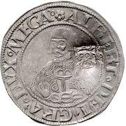 1 doppelschilling Albrecht VII – avers