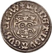 1 Sechsling - Magnus II. und Balthasar (Güstrow) – revers