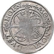 1 Groschen - Albrecht VII. – revers