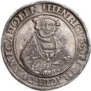 1 Thaler - Heinrich V. – avers