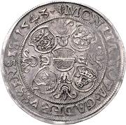 1 Thaler - Albrecht VII. – revers