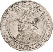 ½ Thaler - Johann Albrecht I. – avers