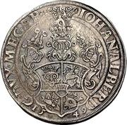 1 Thaler - Johann Albrecht I. – revers