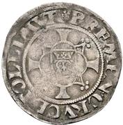 1 Schilling - Johann Albrecht I. – revers