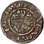 1 Sechsling - Ulrich III. – revers
