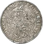 1 Thaler - Ulrich III. – revers