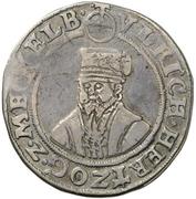 ½ Thaler - Ulrich III. – avers