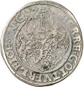 ½ Thaler - Ulrich III. – revers