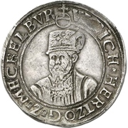 1 Thaler - Ulrich III. – avers