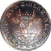 3 Pfenninge - Christian Ludwig II – avers