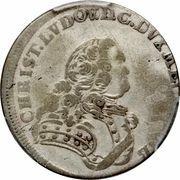 ⅙ Thaler - Christian Ludwig II – avers
