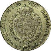 8 schilling courant Friedrich II – avers