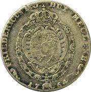 16 schilling courant Friedrich II – avers