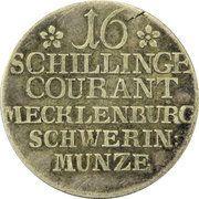 16 schilling courant Friedrich II – revers