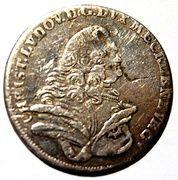 8 gute groschen Christian Ludwig II – avers