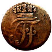 6 pfennig Friedrich Franz I – avers
