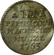 3 Pfennig - Friedrich II – revers
