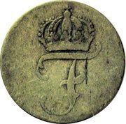 6 pfennig Friedrich II – avers