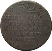 32 schilling  Friedrich Franz I – revers