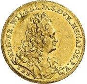1 ducat Friedrich Wilhelm – avers