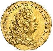 ¼ ducat Friedrich Wilhelm – avers