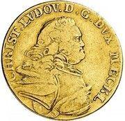 5 thaler Christian Ludwig II – avers
