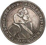 1 thaler Adolf Friedrich – avers