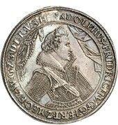 3 thaler Adolf Friedrich – avers