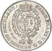 12 schilling courant Friedrich Franz I – avers
