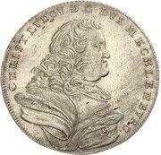 ⅔ thaler Christian Ludwig II – avers