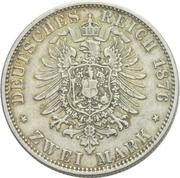 2 Mark - Friedrich Franz II – revers