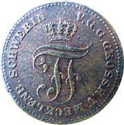 2 Pfennige - Friedrich Franz II – avers