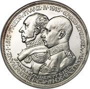 3 Mark - Friedrich Franz IV (Centenaire du Grand-duché de Mecklenburg-Schwerin) – avers