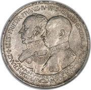 5 Mark - Friedrich Franz IV (Centenaire du Grand-duché de Mecklenburg-Schwerin) – avers