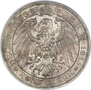 5 Mark - Friedrich Franz IV (Centenaire du Grand-duché de Mecklenburg-Schwerin) – revers