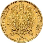 20 Mark - Friedrich Franz II – revers