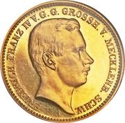 20 Mark - Friedrich Franz IV – avers