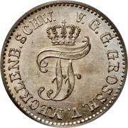 1/48 thaler - Friedrich Franz II – avers