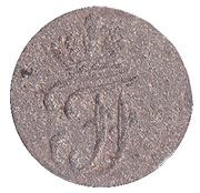 3 pfennig Friedrich Franz I. – avers
