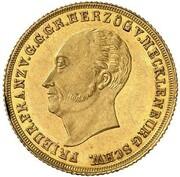 1 ducat Friedrich Franz I. – avers