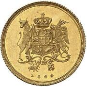 1 ducat Friedrich Franz I. – revers