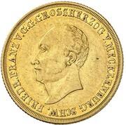 5 thaler Friedrich Franz I – avers